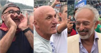 """Pontida, insulti a Gad Lerner e schiaffo a videomaker di Repubblica. Salvini: """"Questi non sono giornalisti ma spesso calunniatori"""""""