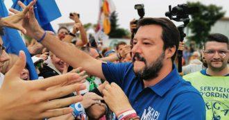 """Pontida, Salvini: """"Referendum maggioritario? Popolo farà quello che non fa il palazzo"""". Poi attacca Di Maio"""