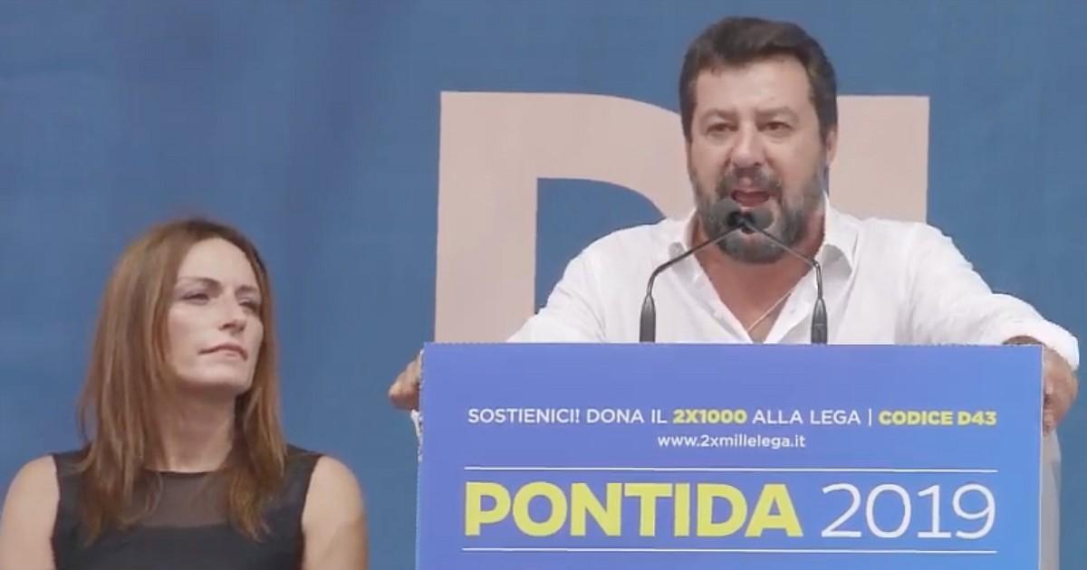 Salvini a Pontida urla 'la parola al popolo!' e la sinistra tace. Ho alcune osservazioni da fare