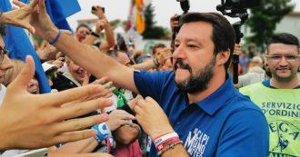 """Salvini chiude il raduno di Pontida: """"Milioni di firme se toccano il dl Sicurezza. Questa è l'Italia che vincerà"""""""