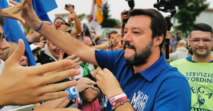 """Live-Non è la D'Urso, Matteo Salvini ospite per l'""""Uno contro tutti"""" come Cicciolina, Pupo e Fabrizio Corona"""