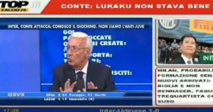 """Telelombardia, Luciano Passirani licenziato dopo le parole su Lukaku: """"Per fermarlo o hai 10 banane e gliele dai, oppure…"""""""