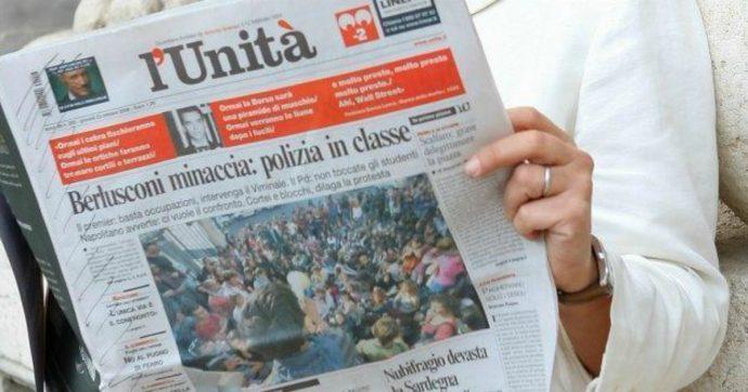 """L'Unità, tribunale di Roma: """"81,6 milioni di debito da ripagare con soldi pubblici"""". Ma Palazzo Chigi può rivalersi sui Ds"""