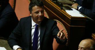"""Scissione Pd, Renzi: """"Il nome della nostra nuova sfida sarà Italia Viva. Con noi 25 deputati e 15 senatori. Operazione di palazzo? Anche"""""""