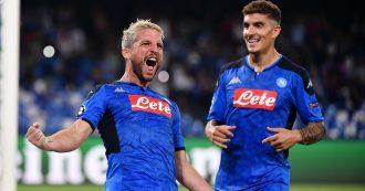 Napoli-Liverpool: 2-0. Azzurri stellari, spettacolo al San Paolo: Mertens e Llorente affossano i campioni in carica