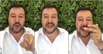 """Pd, Salvini: """"Renzi? Scissione annunciata. Da lui non mi aspetto né dignità né onore, è il nulla"""""""
