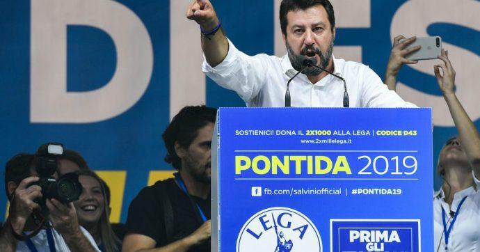 Salvini, il caso dei bambini sul palco di Pontida: Greta non è di Bibbiano, ma di un comune del Comasco governato dalla Lega