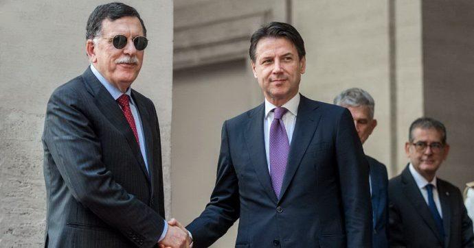 Governo, Conte incontra il presidente libico Sarraj. In serata il faccia a faccia con Macron