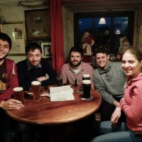 Nel pub piu' in alto d'Irlanda. Glencullen, 2016