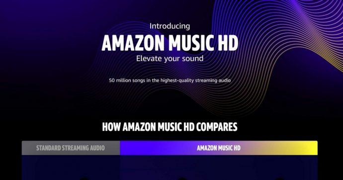 Amazon inaugura Music HD, il servizio musicale per chi pretende l'alta qualità