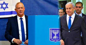 Elezioni Israele, lo spoglio: 'Gantz in vantaggio su Netanyahu con 32 seggi contro 31'. Il falco Lieberman decisivo per formare un governo