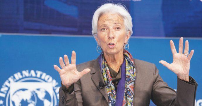 """Covid, Lagarde: """"Calo Pil Eurozona tra il -8 e il -12%. Ma non ci sarà una nuova crisi dell'Euro"""""""