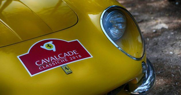 Ferrari, le vecchie signore della Cavalcade Classiche arriva