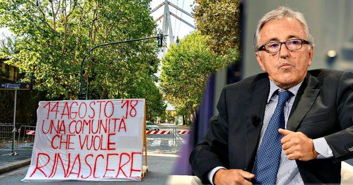 """Morandi, Atlantia dà 13 milioni di euro a Castellucci. Per gli sfollati furono 8-12mila: """"Devolva i soldi al territorio o a nuovi fondi"""""""