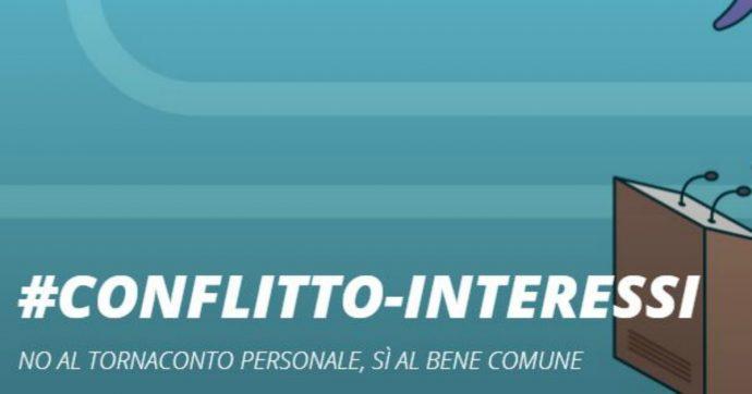"""""""Stop conflitto di interessi"""", Riparte il futuro e The Good Lobby Italia lanciano la campagna per chiedere al governo una legge specifica"""