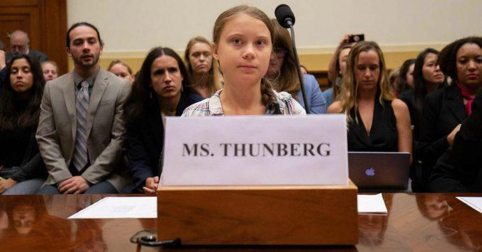 """Greta Thunberg al Congresso Usa lancia un monito ai politici: """"Non vogliamo i vostri elogi o gli inviti se poi non fate niente"""""""