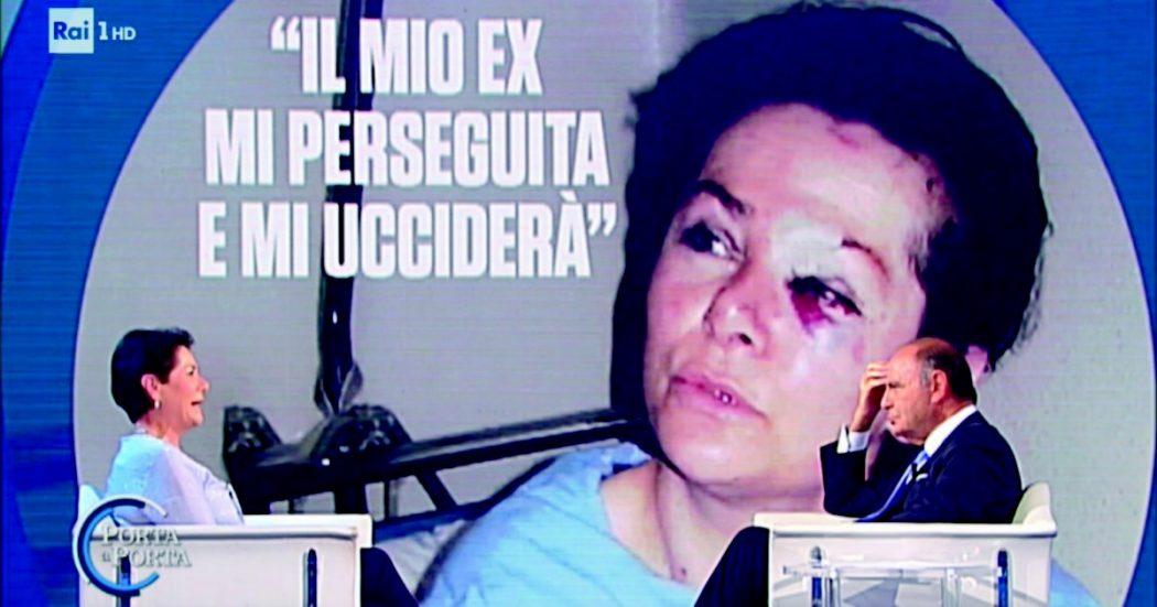 Lucia, vittima dell'ex fidanzato e dei risolini di Bruno Vespa