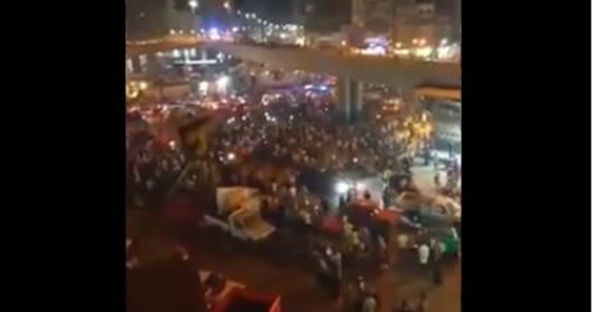 Egitto, protesta in piazza Tahrir al Cairo contro il presidente Al Sisi: arresti e lanci di lacrimogeni