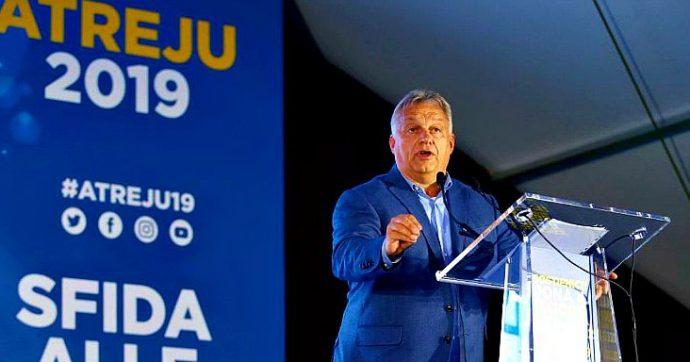 """Orban: """"In Italia il governo si è separato dal popolo"""", Di Maio: """"Eviti inutili ingerenze"""""""