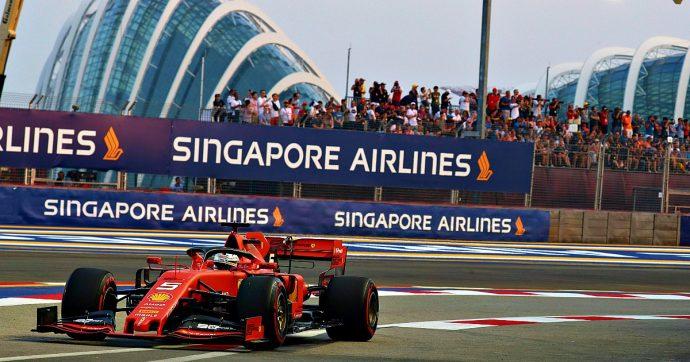 F1 Singapore, le qualifiche: Leclerc conquista ancora la pole. Hamilton secondo, Vettel terzo