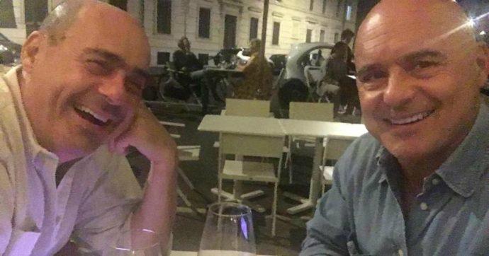 """Nicola e Luca Zingaretti si fanno un selfie insieme: """"Finalmente con il fratellone. A parlare di figlie, famiglie, di vita e del domani"""""""