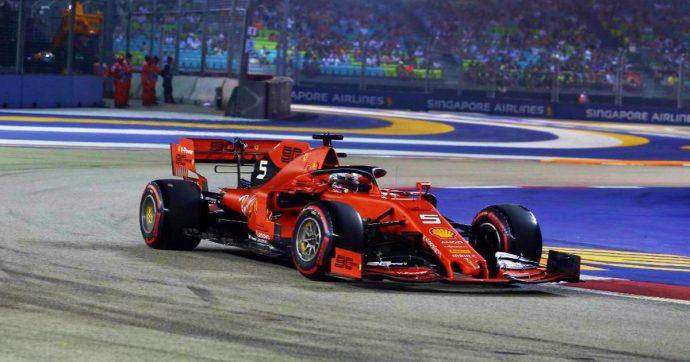 Formula 1, GP di Singapore: doppietta Ferrari. Vettel vince davanti a Leclerc. Verstappen è terzo, Mercedes giù dal podio