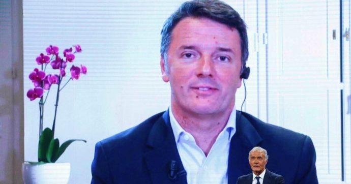 """Renzi: """"Non è vero che ho comunicato l'uscita a Zingaretti su Whatsapp. Carcere agli evasori? Il tema è tracciare i denari"""""""