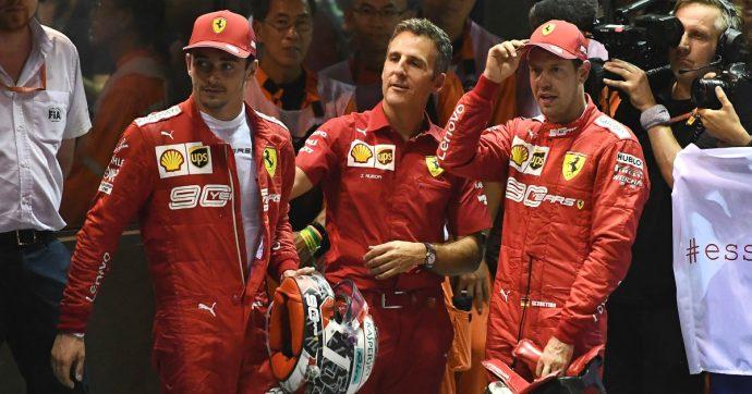 Ferrari, doppietta al Gp di Singapore. Ma ora si rischiano frizioni pericolose tra Vettel e Leclerc