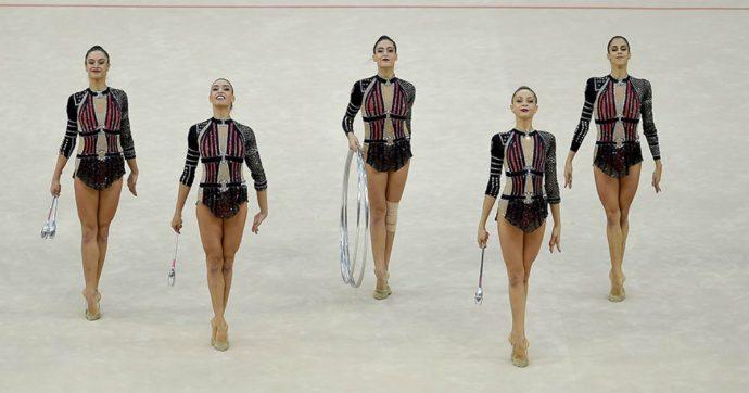 """Mondiale di ginnastica ritmica, le """"Farfalle"""" vincono il bronzo in Azerbaigian"""