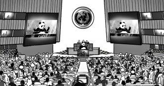 Clima, cosa direbbe il panda del Wwf all'Assemblea Onu? Il video d'animazione doppiato da Luca Ward fa riflettere