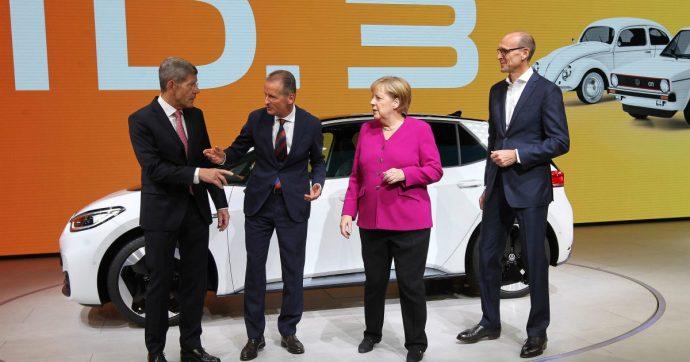 """Germania, il piano salva-clima piace a Vw. Diess: """"importante per le auto elettriche"""""""