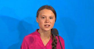 """Clima, Greta Thunberg ai leader mondiali: """"Avete rubato i miei sogni e la mia infanzia con le vostre parole vuote"""". Il discorso al vertice Onu"""