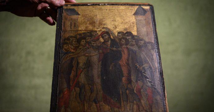 Anziana scopre che il quadro che ha appeso in cucina è un Cimabue: vale fra i 4 e i 6 milioni di euro