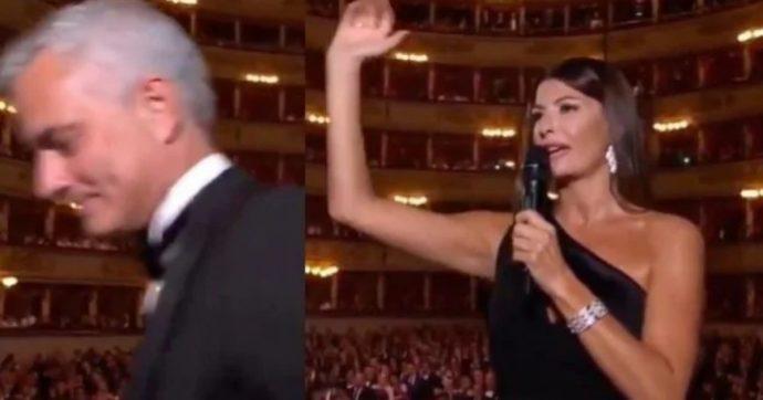 Mourinho, il siparietto con Ilaria D'Amico finisce male: lo Special One se ne va dal palco