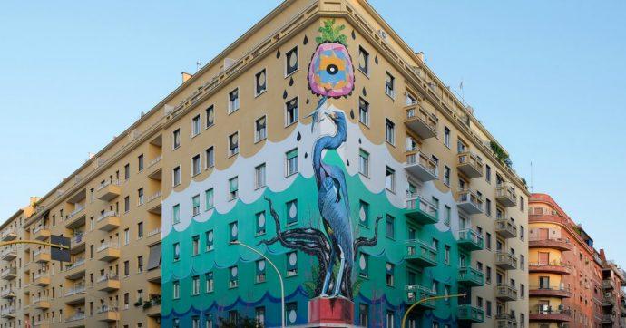 Costo Di Un Murales.La Street Art Antismog Di Iena Cruz Sbarca A Milano Un