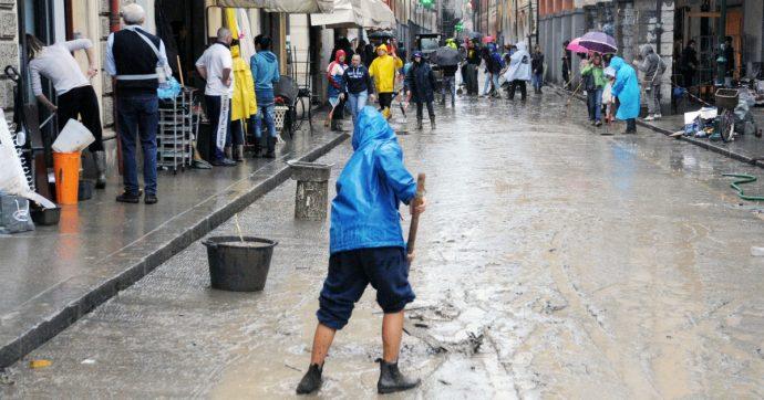 Alluvioni, vanno trovate soluzioni globali. Ma nelle emergenze la solidarietà è essenziale