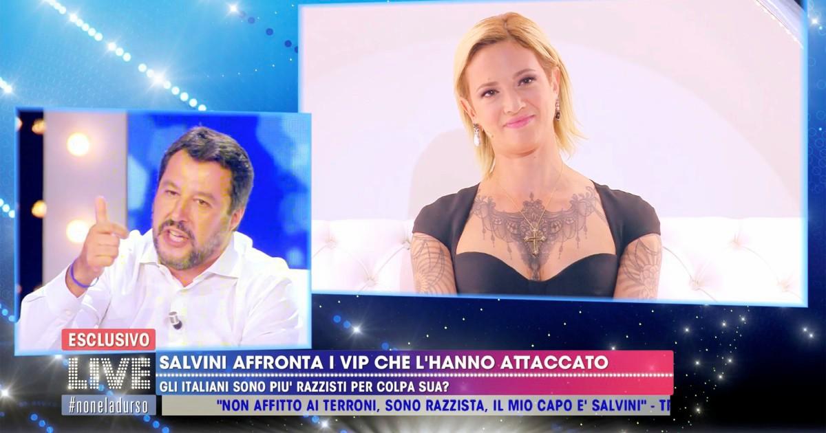"""Scontro fra titani dalla D'Urso. Salvini sfida ben cinque """"vip"""""""