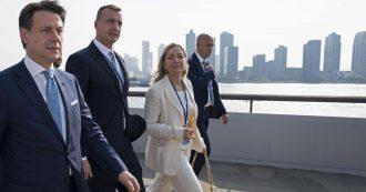 """Conte: """"Una svolta: adesso il porto più vicino sarà pure Marsiglia"""""""