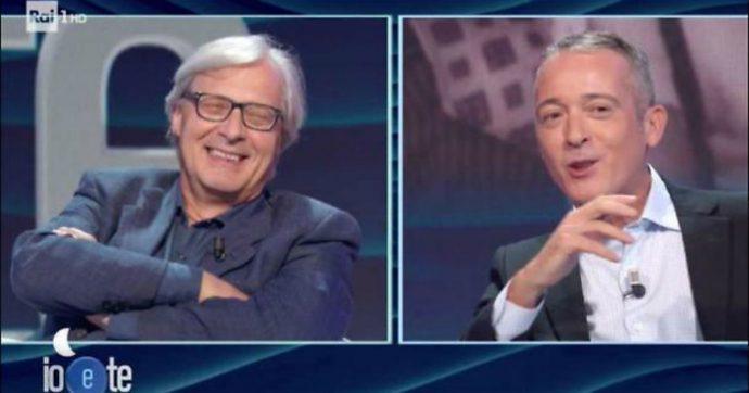 """Vittorio Sgarbi, la confessione a Pierluigi Diaco: """"Ho visto la morte a mezz'ora di distanza"""""""