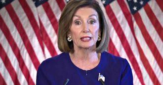 """Usa, l'annuncio di Nancy Pelosi: """"Camera ha indetto inchiesta ufficiale su impeachment. Nessuno è superiore alla legge"""""""