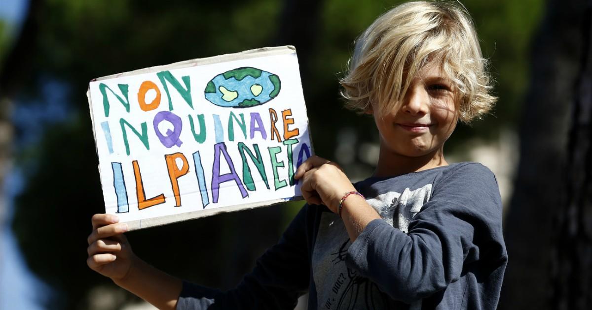 Clima, il mondo salvato dai bambini