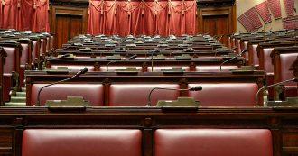 Italia Viva vuole i seggi al centro di Camera e Senato, battaglia per far trasferire il M5s verso sinistra e avvicinarsi ai banchi di Forza Italia