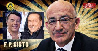 """Renzi, Sisto: """"Difende Berlusconi? Fa il garantista perché gli servono voti. Non è credibile, né affidabile. È il mercante fiorentino della politica"""""""