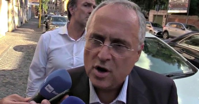 """Coronavirus, Lotito: """"Dpcm di Conte è illogico. Troveremo Dzeko e Immobile ad allenarsi a Villa Borghese"""""""