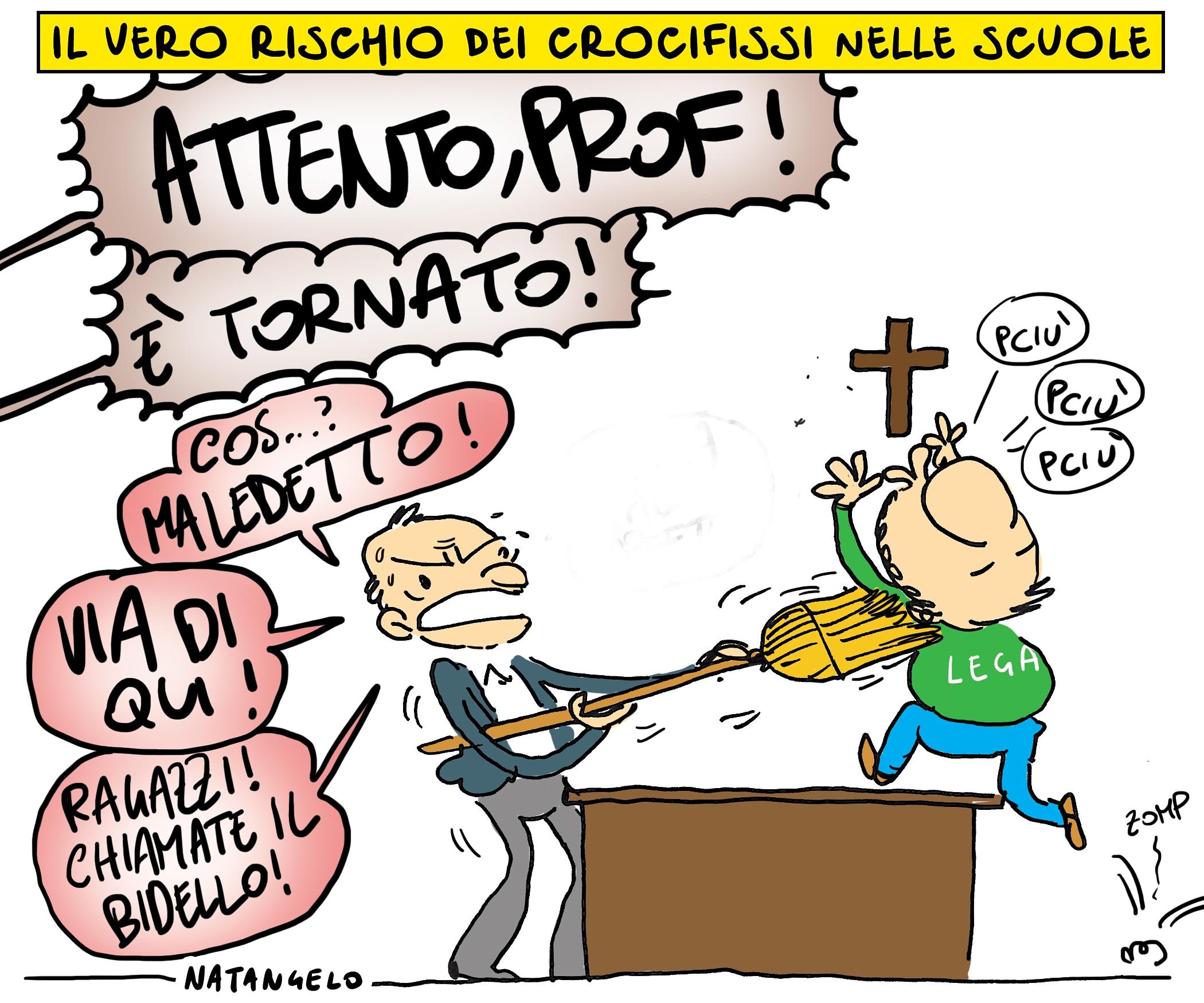 Crocifisso nelle scuole