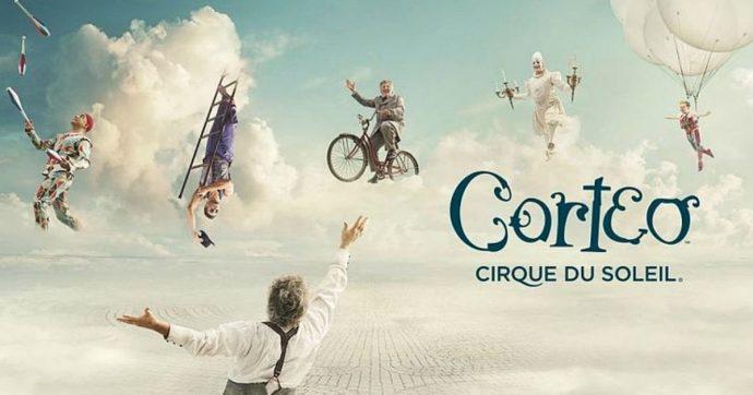 """Cirque du Soleil, in Italia c'è Corteo: """"Lo show racconta il funerale immaginario di un clown"""" tra danze aeree, equilibrismi e magia"""