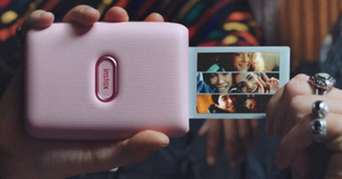 Fujifilm Instax Mini Link è la stampante portatile per smartphone che pesa 200 grammi e costa 119 euro