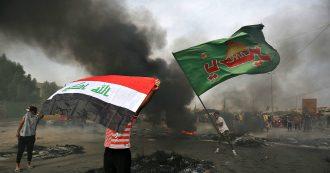 Iraq, proteste contro carovita e disoccupazione a Baghdad e nel centro-sud: 25 morti, tra cui un bambino. Esplosione nella Green Zone