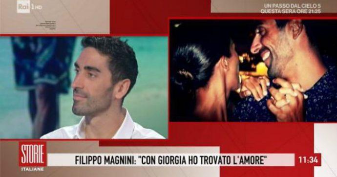 """Filippo Magnini: """"Giorgia Palmas è la più bella del mondo, me la sposo. L'ho conquistata con un tiramisù"""""""