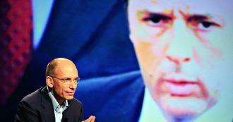 """Governo, Enrico Letta: """"La lettera di Renzi è guerra. Conte e Zingaretti non facciano come me. Così non mangiano il panettone"""""""